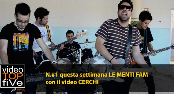 VideoTopFive, la video classifica dal 24.08.2014 al 30.08.2014