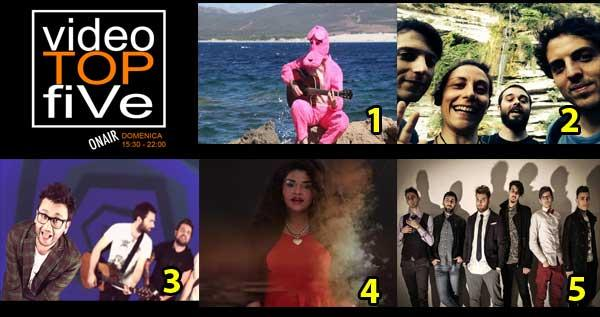 VideoTopFive, la video classifica dal 11.01.2015 al 17.01.2015