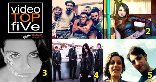 VideoTopFive, la video classifica dal 01.02.2015 al 07.02.2015