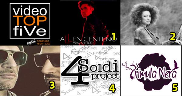 VideoTopFive, la video classifica dal 22.02.2015 al 28.02.2015