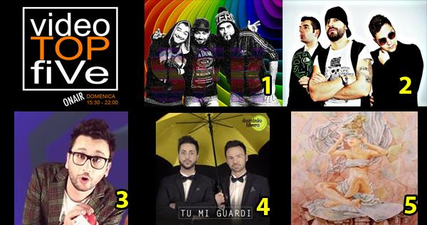 VideoTopFive, la video classifica dal 22.03.2015 al 28.03.2015
