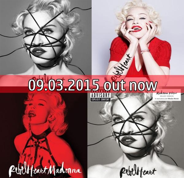MADONNA , attesa finita per REBEL HEART