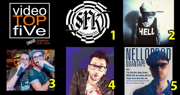 VideoTopFive, la video classifica dal 19.04.2015 al 25.04.2015