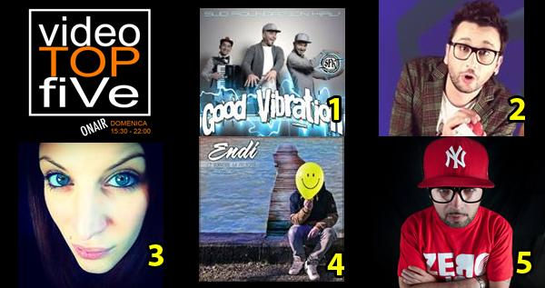 VideoTopFive, la video classifica dal 16.04.2015 al 02.05.2015