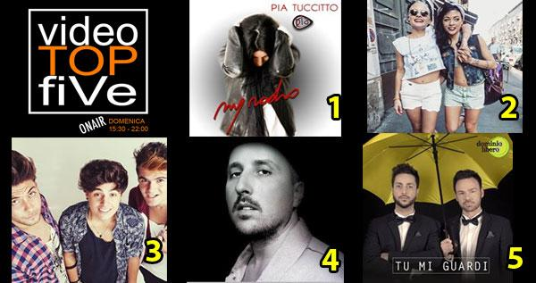 VideoTopFive, la video classifica dal 24.05.2015 al 30.05.2015