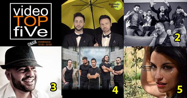 VideoTOPfiVe, la video classifica dal 07.06.2015 al 13.06.2015
