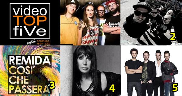 VideoTOPfiVe, la video classifica dal 14.06.2015 al 20.06.2015