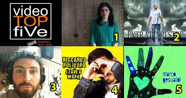 VideoTOPfiVe, la video classifica dal 5.07.2015 all' 11.07.2015