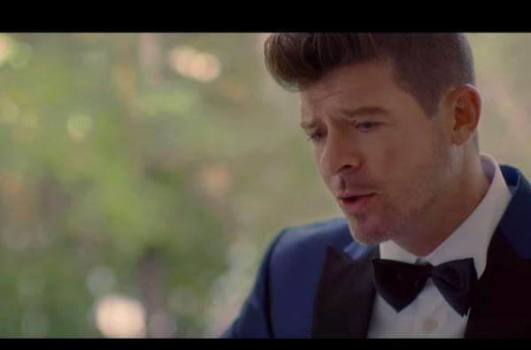 ROBIN THICKE in radio con BACK TOGETHER feat. NICKY MINAJ