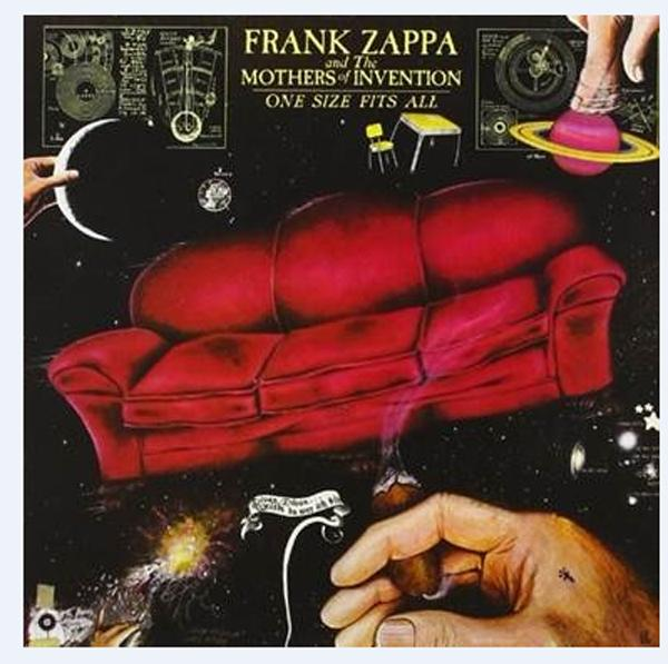 FRANK ZAPPA torna in formato vinile ONE SIZE FITS ALL
