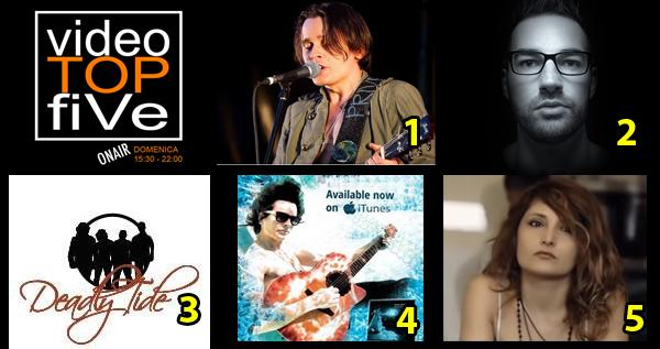 VideoTOPfiVe, la video classifica dal 27.09.2015 al 03.10.2015