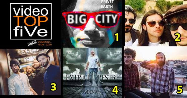 VideoTOPfiVe, la video classifica dal 08.11.2015 al 14.11.2015