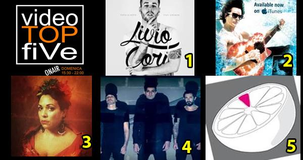 VideoTOPfiVe, la video classifica dal 22.11.2015 al 28.11.2015