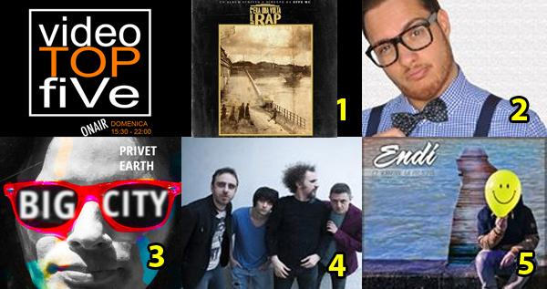 VideoTOPfiVe, la video classifica dal 29.11.2015 al 05.12.2015