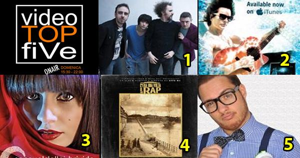 VideoTOPfiVe, la video classifica dal 06.12.2015 al 12.12.2015