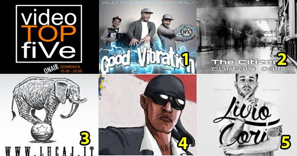 VideoTOPfiVe, la video classifica dal 10.01.2016 al 16.01.2016