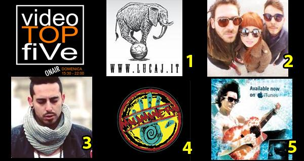 VideoTOPfiVe, la video classifica dal 07.02.2016 al 13.02.2016