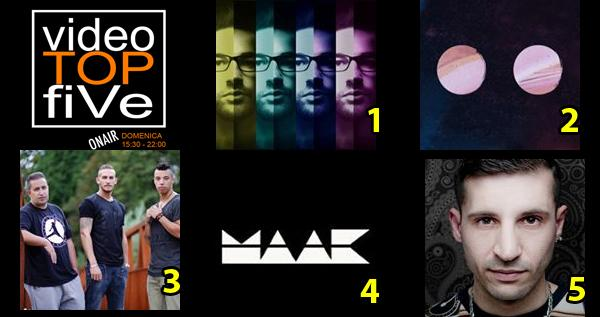 VideoTOPfiVe, la video classifica dal 20.03.2016 al 26.03.2016