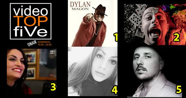 VideoTOPfiVe, la video classifica dal 03.04.2016 al 09.04.2016