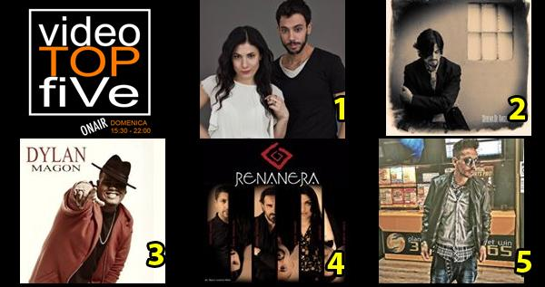 VideoTOPfiVe, la video classifica dal 10.04.2016 al 16.04.2016