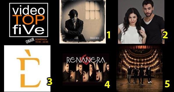 VideoTOPfiVe, la video classifica dal 17.04.2016 al 23.04.2016