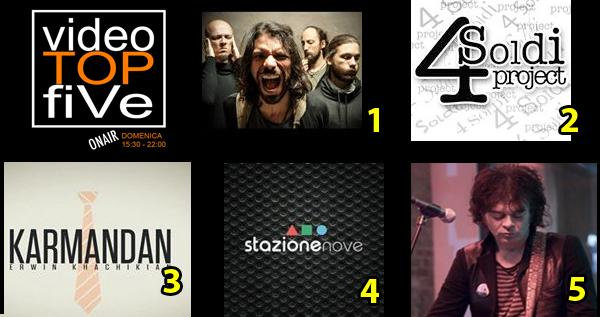 VideoTOPfiVe, la video classifica dal 08.05.2016 al 14.05.2016