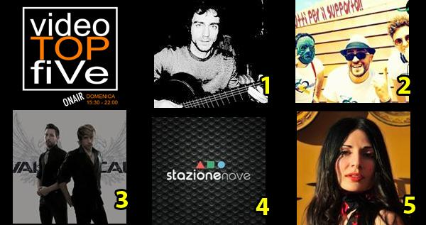 VideoTOPfiVe, la video classifica dal 05.06.2016 al 11.06.2016