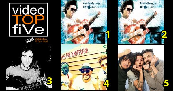 VideoTOPfiVe, la video classifica dal 19.06.2016 al 25.06.2016