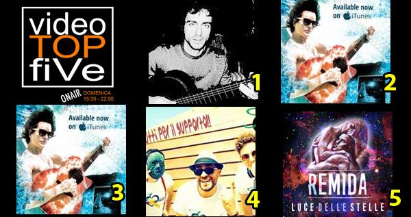 VideoTOPfiVe, la video classifica dal 03.07.2016 al 09.07.2016