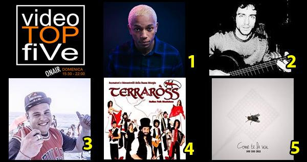 VideoTOPfiVe, la video classifica dal 24.07.2016 al 30.07.2016