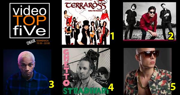 VideoTOPfiVe, la video classifica dal 04.09.2016 al 10.09.2016