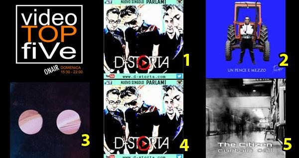 VideoTOPfiVe, la video classifica dal 16.10.2016 – 23.10.2016