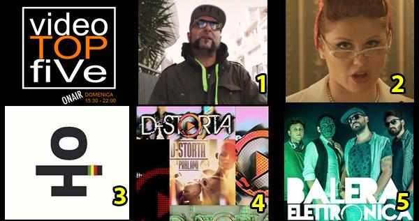 VideoTOPfiVe, la video classifica dal 20.11.2016 – 26.11.2016