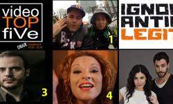VideoTOPfiVe, la video classifica dal 01.01.2017 – 07.01.2017