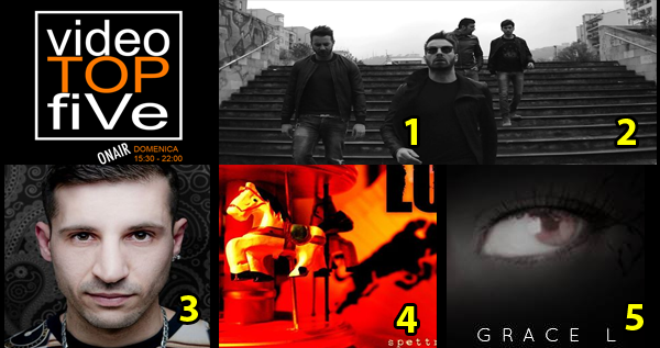 VideoTOPfiVe, la video classifica dal 07.05.2017 – 13.05.2017