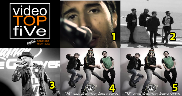 VideoTOPfiVe, la video classifica dal 02.07.2017 – 08.07.2017