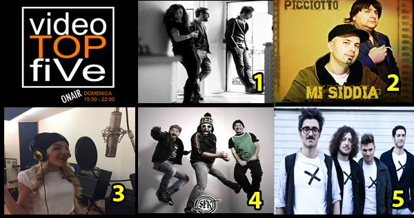 VideoTOPfiVe, la video classifica di RADIOSTARTV dal 17.12.2017 –24.12.2017