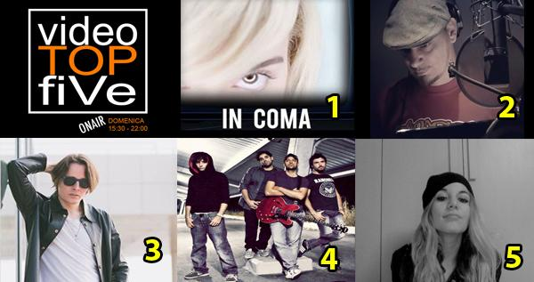 VideoTOPfiVe, la video classifica di RADIOSTARTV dal 02.04.2018 –08.04.2018
