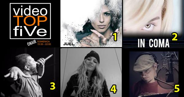 VideoTOPfiVe, la video classifica di RADIOSTARTV dal 09.04.2018 –14.04.2018