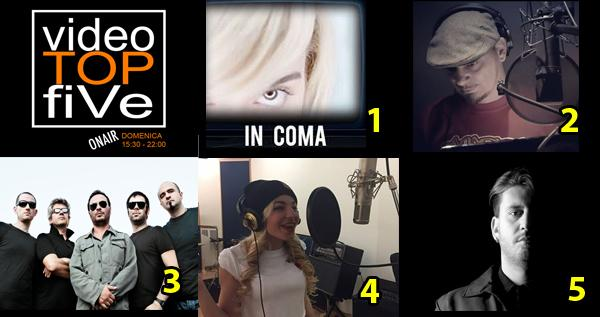 VideoTOPfiVe, la video classifica di RADIOSTARTV dal 25.03.2018 –01.04.2018
