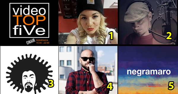 VideoTOPfiVe, la video classifica di RADIOSTARTV dal 30.04.2018 –05.05.2018